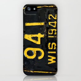 Vintage - Wis 941 iPhone Case