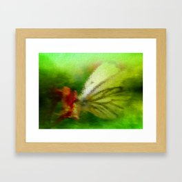 Butterfly's inn version 3 Framed Art Print