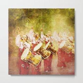 korean drummers Metal Print