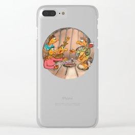 Cheeeeers! Clear iPhone Case