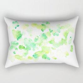 180527 Abstract Watercolour 2   Watercolor Brush Strokes Rectangular Pillow