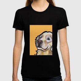 George the golden retriever (orange) T-shirt