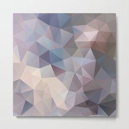 Polygon pattern 9 Metal Print