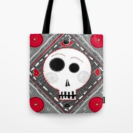 All stitched up Tote Bag