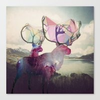 spirit Canvas Prints featuring The spirit VI by Laure.B