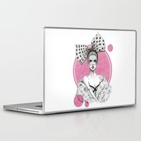 fancy Laptop & iPad Skins featuring Fancy by Tania Santos