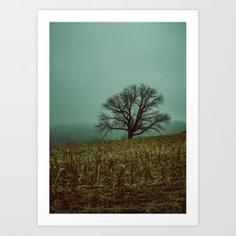 GHOST IN THE EMPTY V2 Art Print