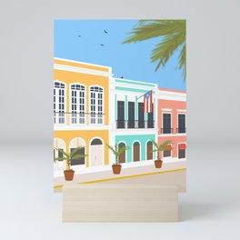 Old San Juan, Puerto Rico Mini Art Print