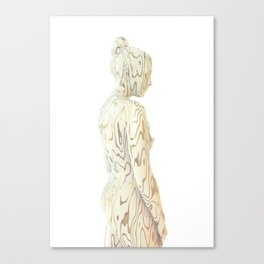 Liz Gold Canvas Print