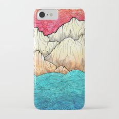 As the sea hits the mountains iPhone 8 Slim Case