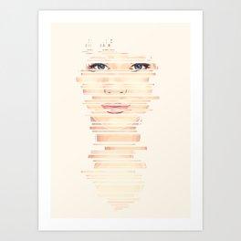 Fragments #2 Art Print