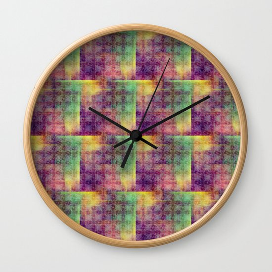 Checker colorful digital pattern by dat