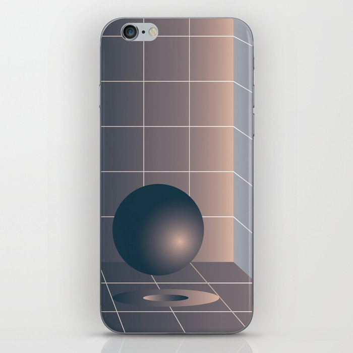 Shape study #6 - Memphis Collection iPhone Skin