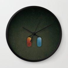 SMOOTH MINIMALISM - Matrix Wall Clock