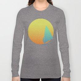 Summer Windsurfer Long Sleeve T-shirt
