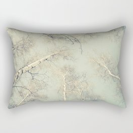 birch trees 3 Rectangular Pillow