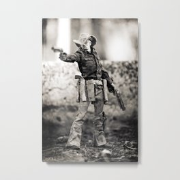 The Blind Cowboy • 5 Metal Print