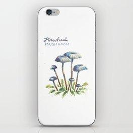 Pinwheel Mushrooms iPhone Skin