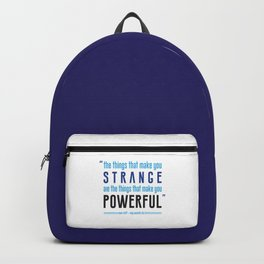 Strange is Powerful Backpack