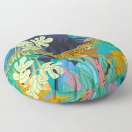 Sleeping Panther Floor Pillow