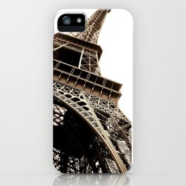 Eiffel Tower Material iPhone Case
