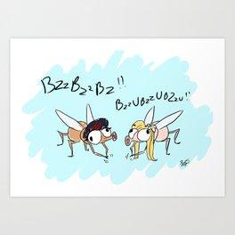 BzzBzz Art Print