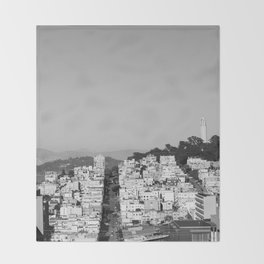 San Francisco XVII Throw Blanket