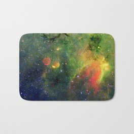 Galactic Snake in Infrared Milky Way Bath Mat