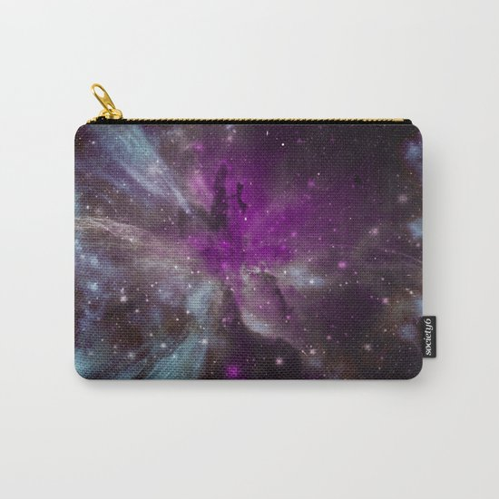 Creation of a Pink Nebula Carry-All Pouch