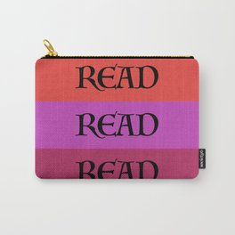 READ READ READ {PURPLE} Carry-All Pouch