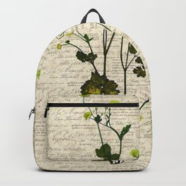 leaves. floral picture for home decor. Abstract Art. Wall art decorative 5 Backpack