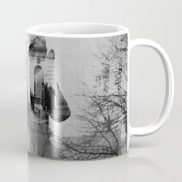Angel. Novodevichy convent. Moscow. Coffee Mug