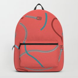 COLOURFUL BELTS AND BUCKLES Backpack