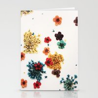 martell Stationery Cards featuring Little Flowers by G Martell
