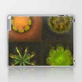Squirm Bared Flowers  ID:16165-120806-85390 Laptop & iPad Skin