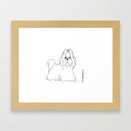 'Scuse Me Framed Art Print