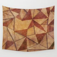 brown Wall Tapestries featuring Brown by jbjart