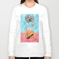 wreck it ralph Long Sleeve T-shirts featuring ship wreck. by BRUM.