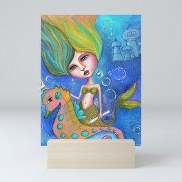 Sirenita Mini Art Print