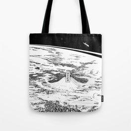 Space upon us Tote Bag