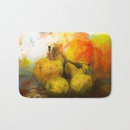 Still life with apple Bath Mat