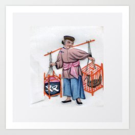 Pith Painting Double carrier Art Print