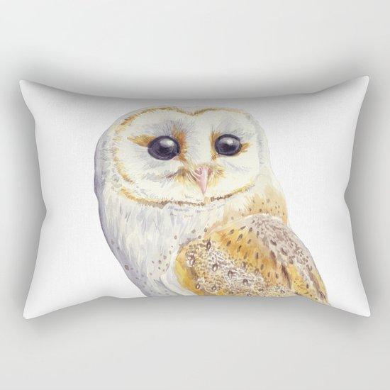 Owl bird Rectangular Pillow
