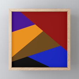 Splash of Colors Framed Mini Art Print
