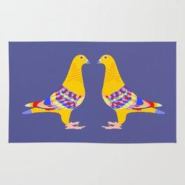 Colombian pigeon Rug
