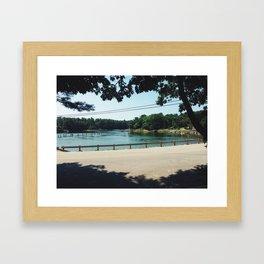 Seapoint Rd. | 2014 Framed Art Print