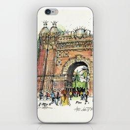 Arc de Triomf, Barcelona iPhone Skin