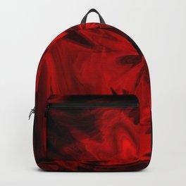 Red Velvet Flower Backpack