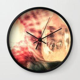 Crystal Point Wall Clock