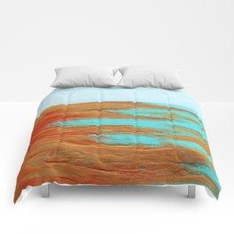 Golden Seascape Comforters